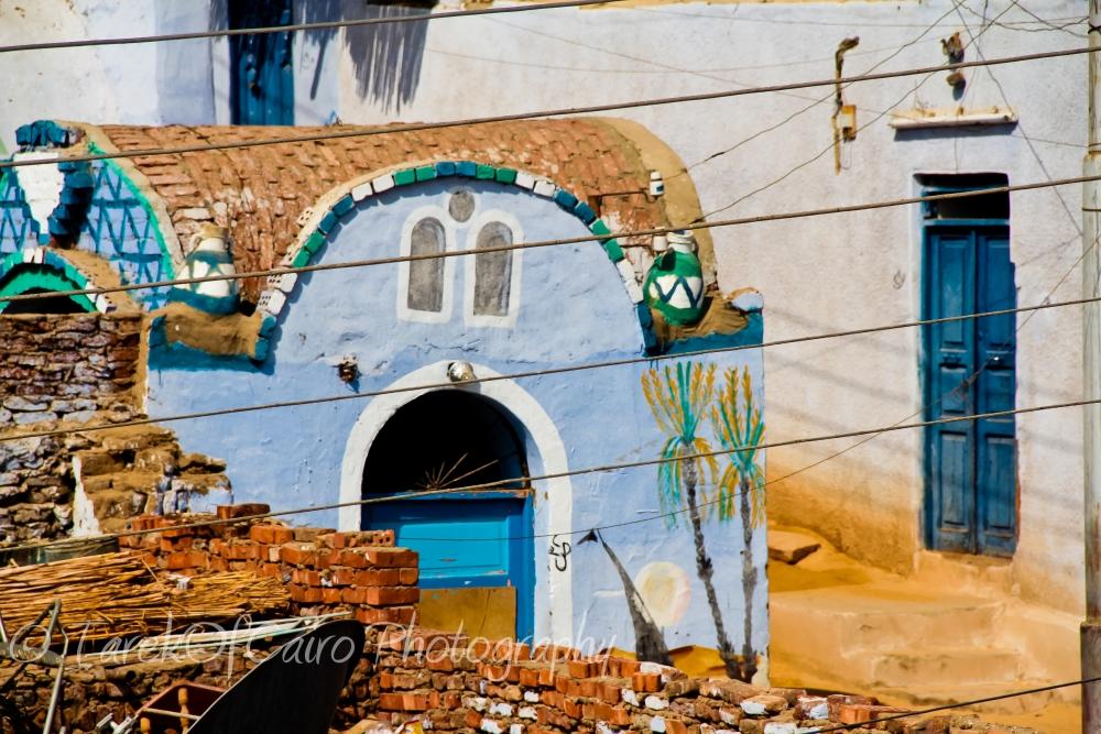 نوبة جمال علي الحيطان .. في النوبة.. ..............Beautiful Nubian outdoors.. (3/6)