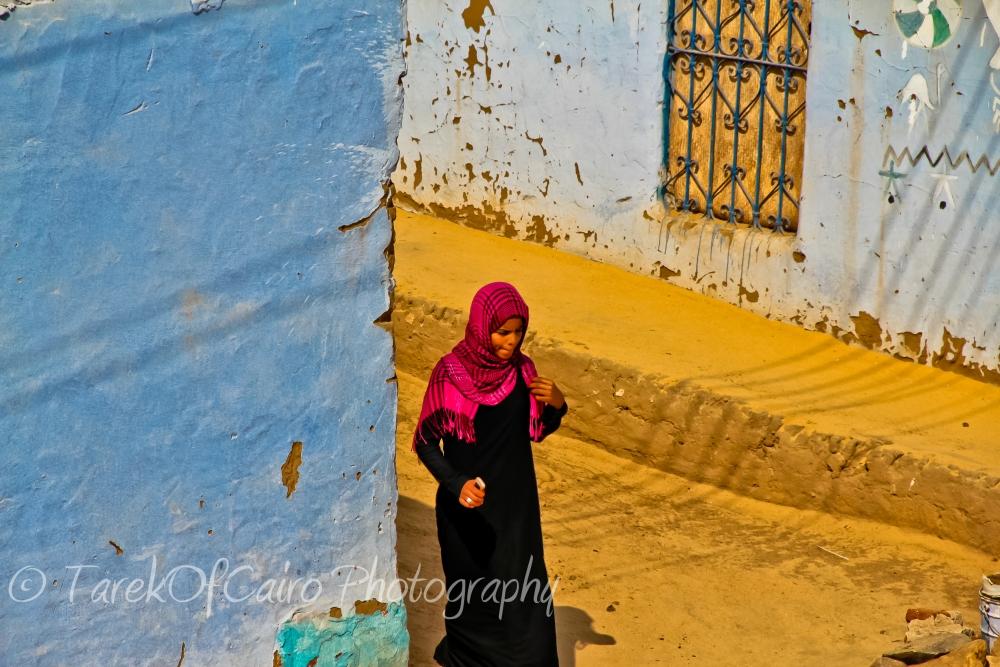 نوبة جمال علي الحيطان .. في النوبة.. ..............Beautiful Nubian outdoors.. (5/6)